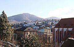 Bäder - Stiftskirche - Annaberg - Merkur vom Florentinerberg