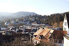 Beutig - Kurhaus  vom Schloßberg