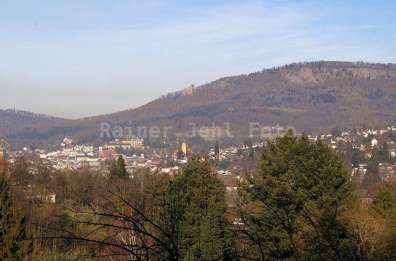Stadt vom Leisberg Battert - Altes Schloß