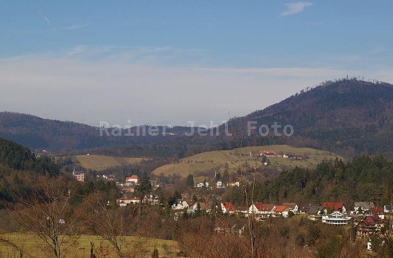 Geroldsau - Villa Stroh Eckberg - Schafberg - Merkur
