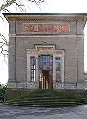 Trinkhalle (Heinrich Hübsch 1842)  · 0203  Pumproom Colonnades of 1842