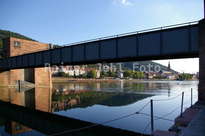 Wehr / barrage Heidelberg River Neckar
