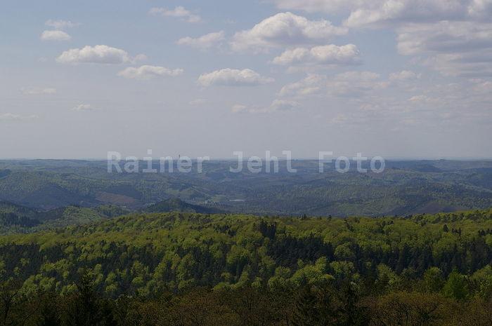 Vue du Grand Wintersberg Alsace prêt de  Niederbronn-les-bains