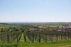 Hornisgrinde vom Elsaß aus gesehen. Rott bei Wissembourg