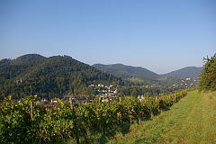 Leisberg - Waldeneck - Fremersberg Lichtental - Quettig