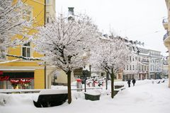 Lange Straße - Winter