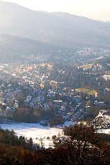 Baden-Baden vom Merkur