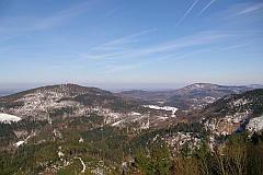 Fremersberg - Battert  - Baden-Baden, von Yburg