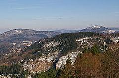 Battert - Baden-Baden  - Merkur - Waldeneck
