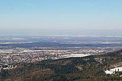 Sinzheim - Iffezheim  von Yburg